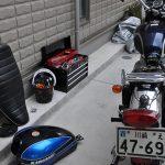 冬の日はバイク弄り(1)/W650ウィンカー交換(フロント編)
